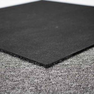 Close picture of a carpet tile